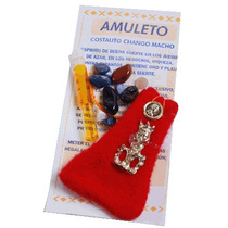 Amuleto Cubano Cósmico Chango Macho..