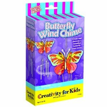 Creatividad Para Kit Butterfly Kids Wind Chime