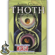 Tarot Thoth - Aleister Crowley - Cartas De 14.5 X 10cm