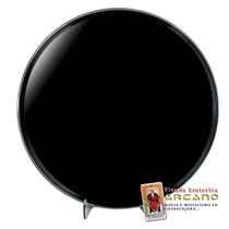 Espejo De Obsidiana Negro - Redondo 30 Cm Diametro