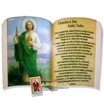 Recuerdo De San Judas Tadeo -fina Ceramica Porcelanizada