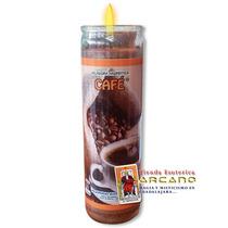 Veladora De Cafe - Atraer Abundancia Y Oportunidades