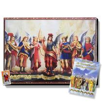 Poster Con Bastidor De Los 7 Arcangeles - Incluye Oraciones
