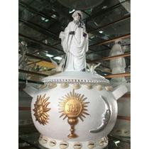 Sopera Con Figura De Orisha Obatala