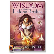 Oraculo Wisdom Of The Hidden Realms - 44 Cartas Y Libro