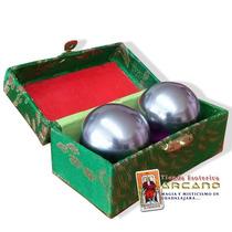 Esferas Chinas - Para Masaje En Aluminio