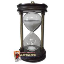 Reloj De Arena - Base De Madera Duracion 15 Minutos