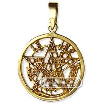 Pentagrama Esotérico De 14 Kilates