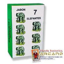 Jabón 7 Elefantes - Atrae Buena Suerte Y Éxito En Todo