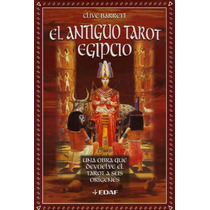 Antiguo Tarot Egipcio / Kit De Baraja De 78 Cartas Y Libro