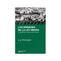 Libro Los Origenes De La Ley Negra