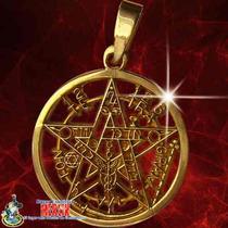 Pentagrama D Oro 14 Kilates - Protección Absoluta Vs Enemigo