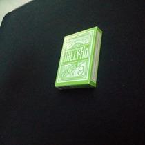 Baraja Tally Ho Verde - Baraja De Cartas, Magia, Poker