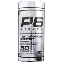 Cellucor P6 Chrome Testosterona Booster Suplemento 60 Unidad