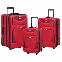 Maletas Set 3 Piezas Travelers Club Viaje Viajar Kit Maleta