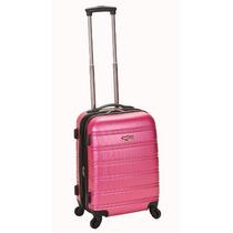 Maleta De Equipaje O Viaje Color Rosa Marca Rockland Mn4