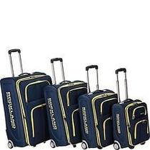 Set De 4 Maletas Kit Rockland Viaje Viajar Equipaje Importad