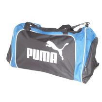 Maleta Puma Tela Negra Amplia Gym Viaje Original Oferta Mn4