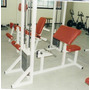 Predicador (scott) C/peso Integrado:guerra Fitness Equipment