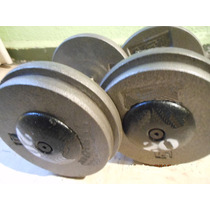 Mancuernas Profesionales 68kgs No 34 Gym Pesas Un Par