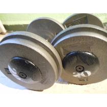 Mancuernas Profesionales 4kgs No 2 Gym Pesas Un Par