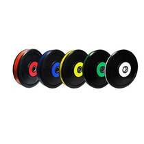 Set De Discos Bumper Color Set De 260 Lbs