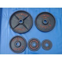 Disco Olimpico 39.8 Kgs No 40 Pesa Gym Pesas Uno