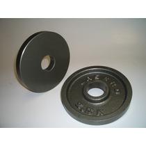 Disco Olímpico Maquinado 2.50 Kg Excelente Acabado