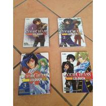 Manga Code Geass 1-4 ( Ed Ivrea )