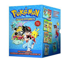 Libros Manga Pokemon Adventures Red & Blue Box Set Vol 1-7