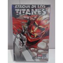 Ataque De Los Titanes Vol.1 Manga Editorial Panini