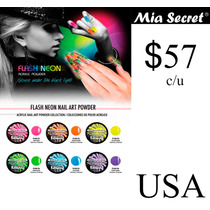 Acrilico Para Uñas Coleccion Flash Neon Mia Secret Gelish