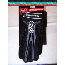 Rawlings Guanteleta Negro Bateo Motivation Chica De Adulto