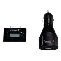 Transmisor Fm Y Cargador De Auto Cygnett Para Ipod O Iphone