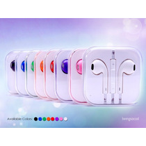 Audifonos Earpods Manos Libres Iphone 6 5s 5c 5 4s Ipod Ipad