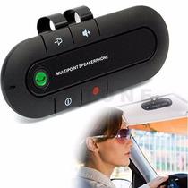 Manos Libres Con Altavoz Y Microfono, Bluetooth Kit + Altav