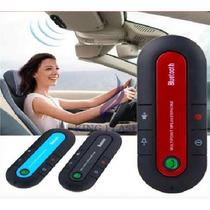 Manos Libres Universal Con Altavoz Para Auto, Por Bluetooth