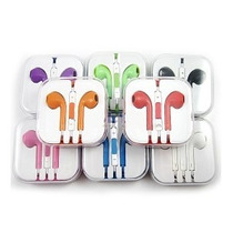 Audifonos Earpods Manos Libres Iphone Colores! Compu Vichis