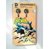 Audifonos Para Ipod Ipad Iphone De Dc Comics Ihip Barman Fn4