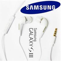 Manos Libres Originales Samsung Galaxy Siii 3.5 Mm Control