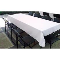 Mantel Rectangular Para Tablón 1.30mts Ancho Por 2.85mts