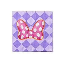 Minnie Mouse Bowtique Almuerzo Servilletas Paquete De 16 Art