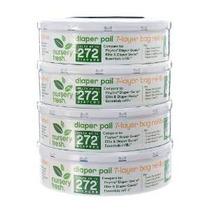 Nursery Fresh Recambio Para Diaper Genie, 272 Count (paquete