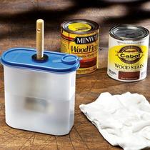 Contenedor De Limpieza Para Brocha Carpinteria Pintura