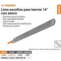 Lima Escofina P/ Herrrar 14 C/espigo