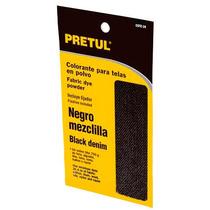 Colorante Negro Mezclilla Para Telas En Polvo Pretul 20554