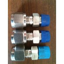 Conectores Para Instrumentos De Acero Inoxidable 316