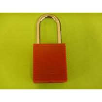 214 Candado De Seguridad De Nylon Rojo Mca Brady