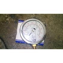 Manómetros De Precion Con Glicerina De 7kg