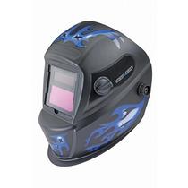 Careta Para Soldar Electronica Auto Oscurecimiento Azul